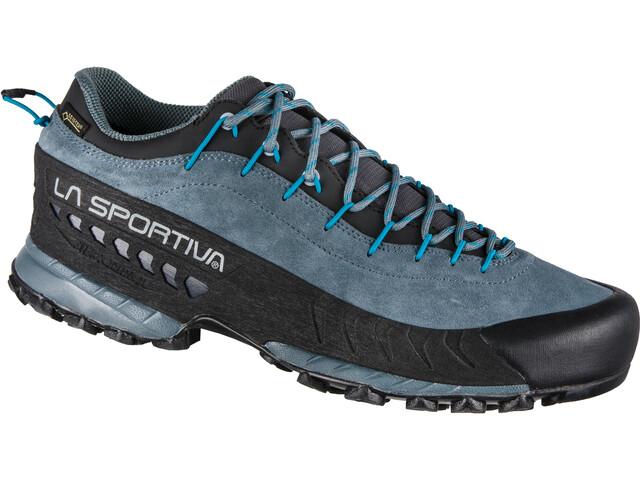 La Sportiva TX4 GTX Kengät Miehet, slate/tropic blue